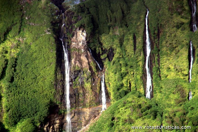 Cascatas Do Poço Da Alagoinha Ilha Das Flores Fotos De
